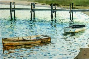 "# 46 ""CRYSTAL LIGHT, BASS RIVER, CAPE COD"""