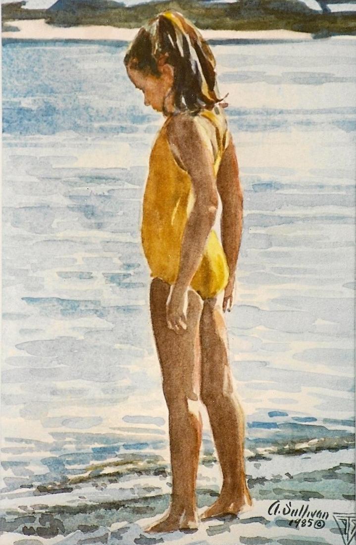 Little Girls Swimsuits Beach