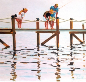 # 597, FISHING FROM THE DOCK