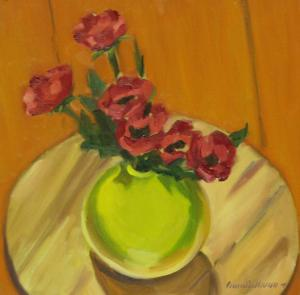 #992, RED POPPIES