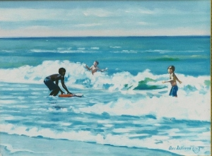 #742, THREE BOYS, NAPLES SURF