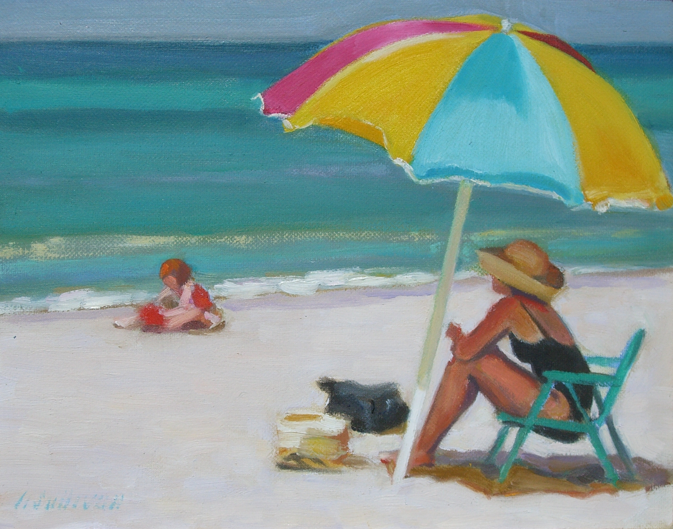 Beach Umbrella Art - Compare Prices on Beach Umbrella Art in the