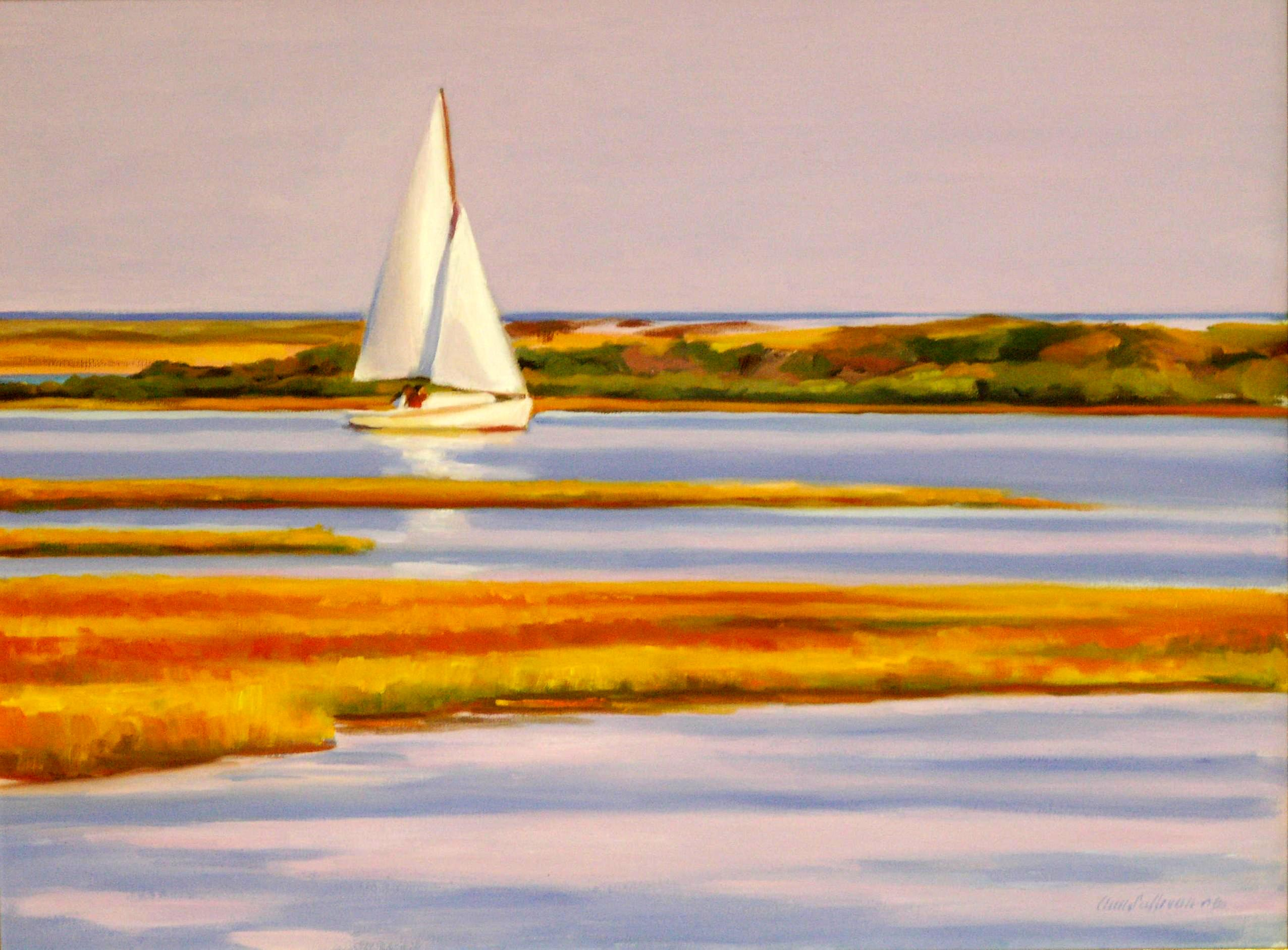 Marvelous Cape Cod September Part - 3: #1034, SEPTEMBER SAIL, BASS RIVER
