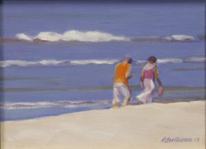 "#1059 ""SHELLING, NAPLES BEACH"""