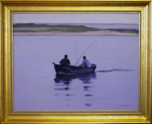 "#1079 ""FISHING, BASS RIVER"" (OUR BEAUTIFUL RIVER SERIES X)"