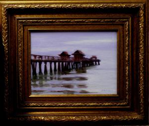 "#1091 ""NAPLES PIER, EARLY EVENING"""