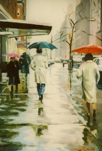 "#442 ""SPRING RAIN, MANHATTAN"""