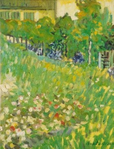 "#796 ""DUBIGNY'S GARDEN, AUVERS SUR OISE, AFTER VINCENT VAN GOGH"""