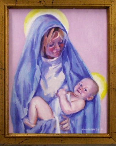 "# 1124 ""MARY AND BABY JESUS, SALVATION IN HER KEEPING"" (CHRISTMAS 2011)"