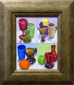 "# 1134 "" COMPLIMENTS, STILL LIFE, WHERE GRAYED COLORS COME FROM"""
