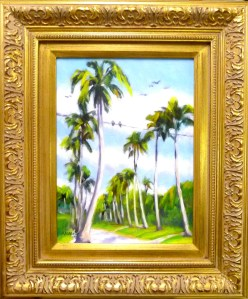 "#1141 ""BIRDS, TENTH AVENUE SOUTH AND GULF SHORE, NAPLES, FL"""