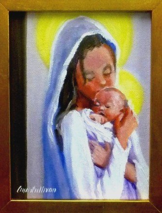"#1150 ""PERFECT PEACE, MADONNA AND CHRIST CHILD"""