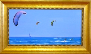 "# 1166 ""SAIL KITES, WEST DENNIS, CAPE COD"""