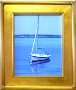 "# 1172 ""A BASS RIVER MOORING"" (OUR BEAUTIFUL RIVER SERIES XXXVIII)"
