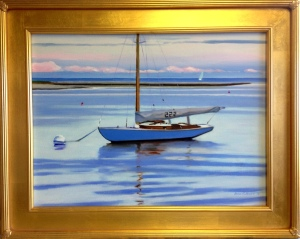"#1190 ""WIANNO 222, BASS RIVER, CAPE COD"" (our Beautiful River Series XLIII)"