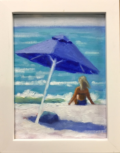 "#1251 ""BLUE UMBRELLA I"