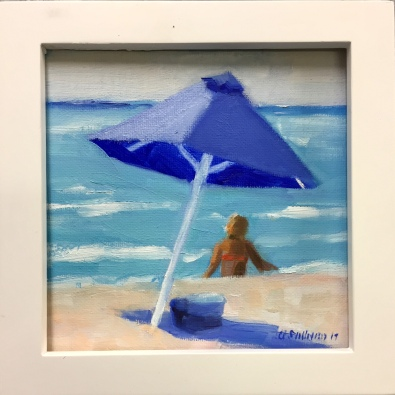 "#1252 ""BLUE UMBRELLA II"