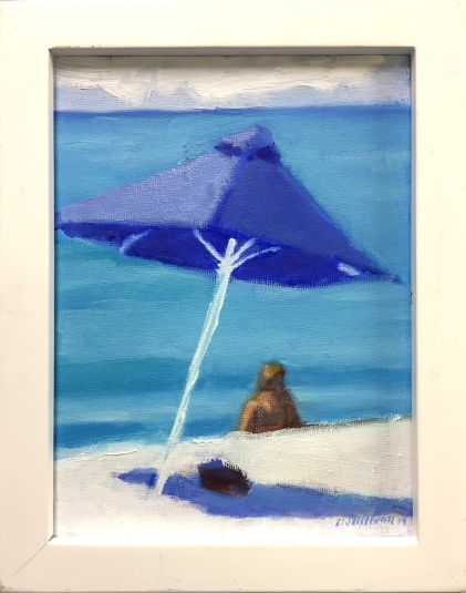 "#1255 ""BLUE UMBRELLA VI"