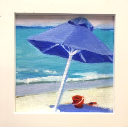 #1287, 1288 BLUE UMBRELLAS